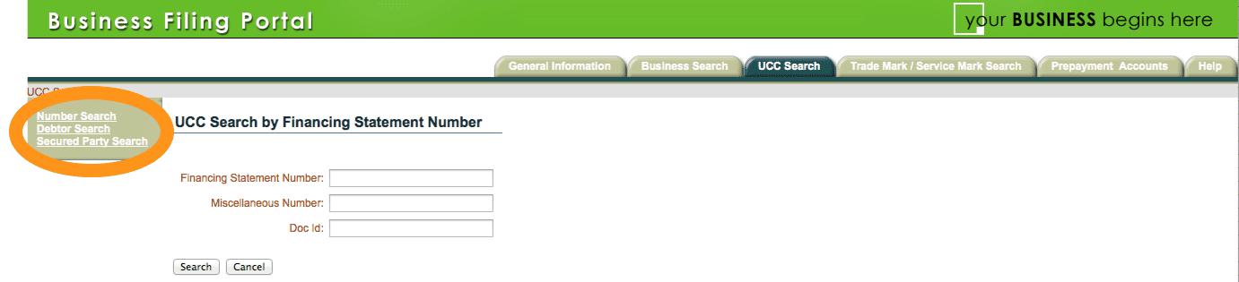 Business Filing Portal