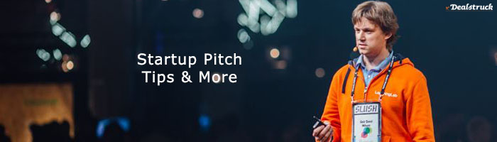 Startup Pitch Tips   More